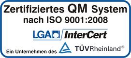 Zertifiziertes QM System Steimer & Grub