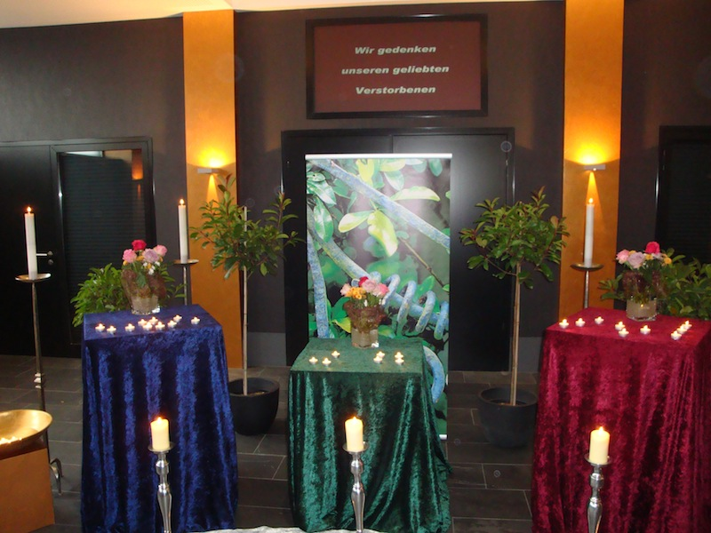 Gedenkfeier Allerheiligen Hauskapelle