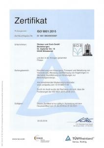 Zertifizierter Bestatter: Prüfungsnorm: ISO 9001:2008